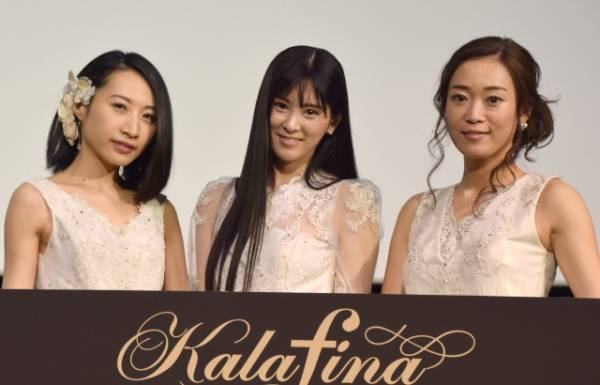 Kalafina(左から)Hikaru、Keiko、Wakana (C)ORICON NewS inc.