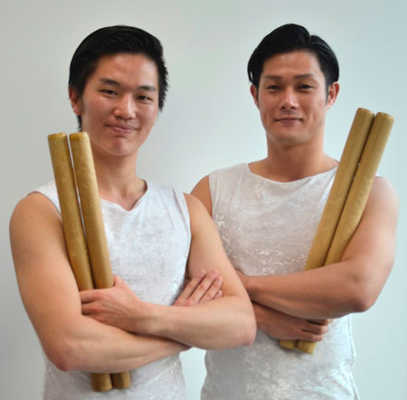 鼓童・坂本雅幸と小松崎正吾が語る限界を超える『打男』