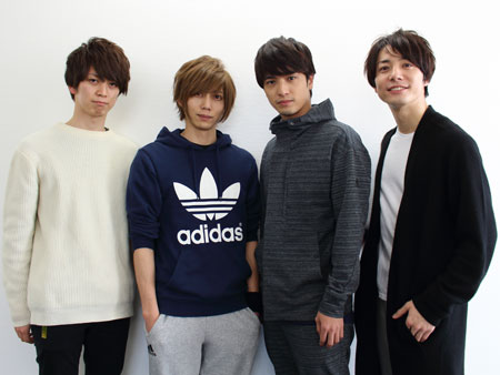 左から、野崎弁当、染谷俊之、中村優一、和田琢磨