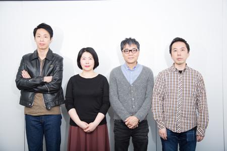 (画像左から)大倉孝二、池谷のぶえ、いとうせいこう、ブルー&スカイ撮影:石阪大輔