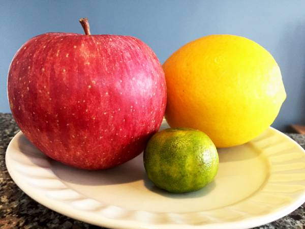 リンゴレモンシークワーサーサイズ感