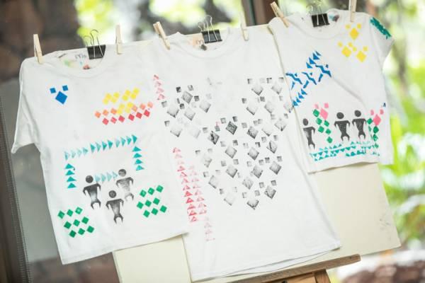 オリジナルのTシャツづくりのプログラム「カパラ・キイ」