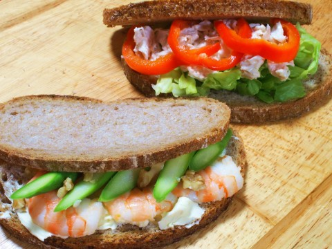 衛生的でおいしいのを!サンドイッチをつくる時の掟