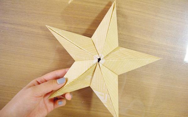 クリスマス 折り紙 折り紙 立体 星 : woman.excite.co.jp