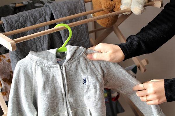 お洗濯の多い子供服もまとめて干せて◎!