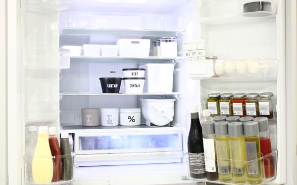 常備菜や作り置きにシンプルで可愛い保存容器を! 冷蔵庫の中もオシャレに模様替え