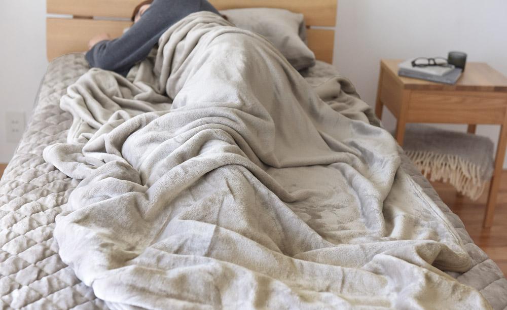 痘 イギリス 毛布 天然