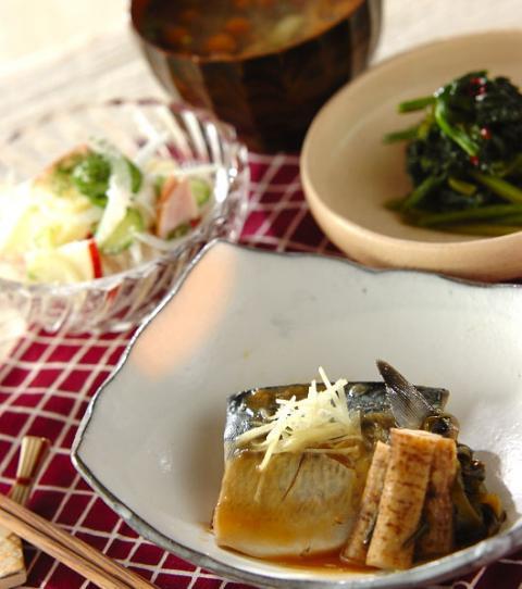 煮 献立 の 味噌 鯖