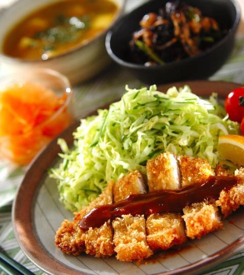 今日の献立は「サクサクトンカツ」 , 【E・レシピ】料理のプロが作る簡単レシピ[1/1ページ]