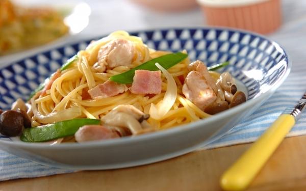 困ったらコレ! 超時短で作れる、鶏もも肉とベーコンの和風パスタ