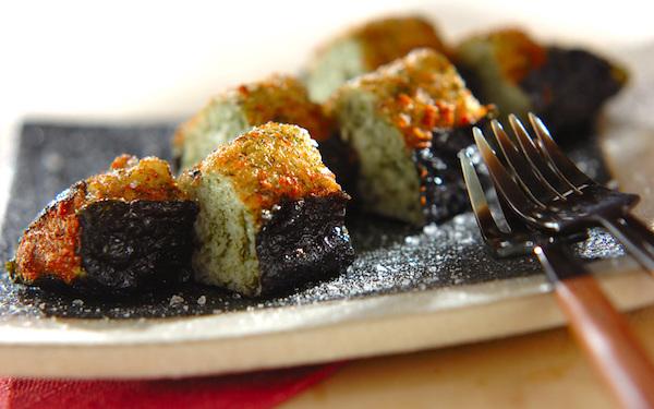 青のりの香りがふわっと広がる、美味しい山芋のモチモチ揚げ