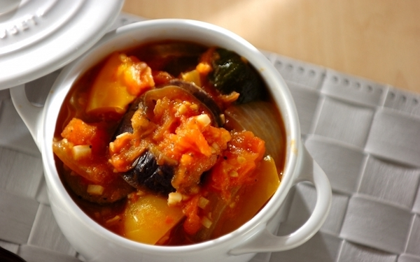 作り置きもできる、冷めても美味しい夏野菜のラタトゥイユ