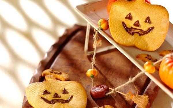 サクサク食感がたまらない、簡単なハロウィンクッキー