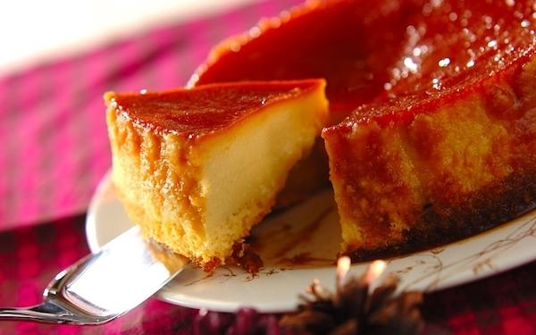 濃厚で美味しい! みんな大好きなサツマイモのプリンケーキ