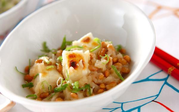 さっぱりと美味しい、朝食としても最適な納豆餅