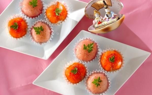 ひな祭りパーティーにも最適、新感覚の洋風手まり寿司