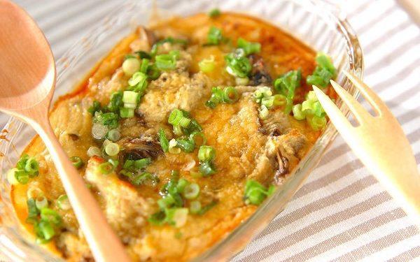 ヘルシーで食べやすい、キノコのオーブン焼き