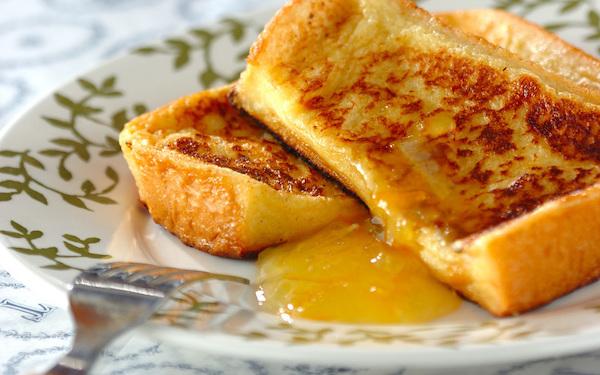 まるでホテルの朝食のよう! ふんわりフレンチトースト