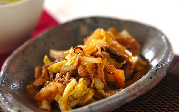 新鮮な味わい、冷めても美味しい白菜の甘酢炒め