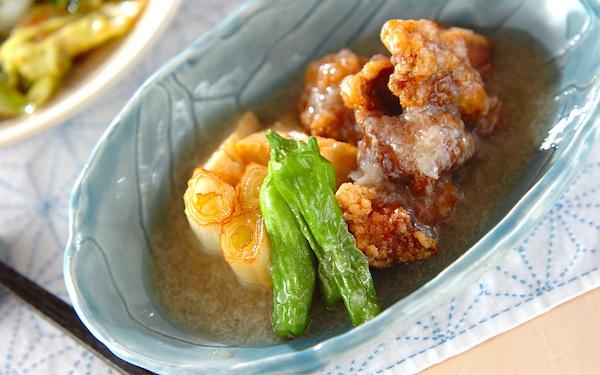 夕食の主菜にピッタリ、豚肉のトロトロあんかけ