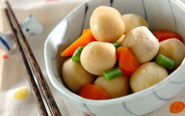 ほっこり優しい味、冷凍里芋の煮っころがし