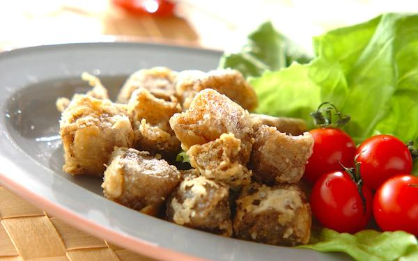 低カロリーでダイエット中にも最適、冷凍コンニャクの唐揚げ