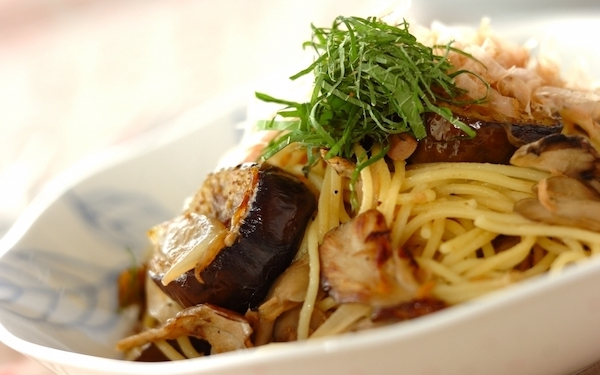 手軽な食材で作れる、ツナとナスの「和風スパゲティ」
