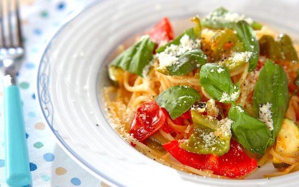 野菜の甘みと旨味を堪能できる、夏日にピッタリな「夏野菜パスタ」