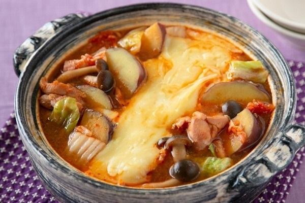キムチチーズタッカルビ鍋