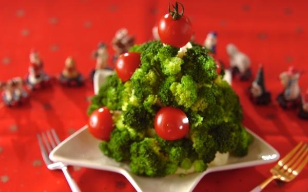 見た目も味も大満足! クリスマスツリー型の「マッシュポテト」