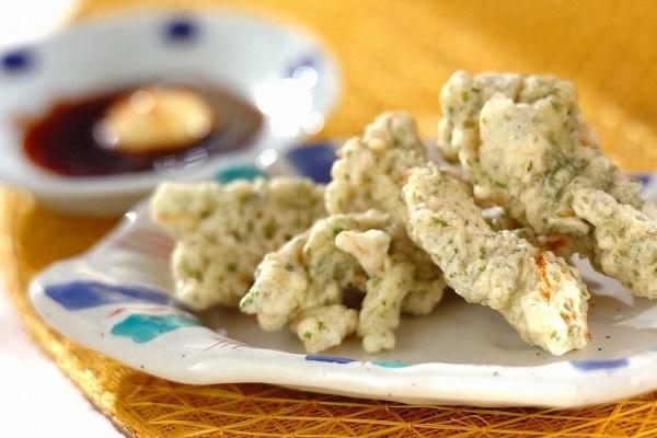 サキイカのおつまみ天ぷら