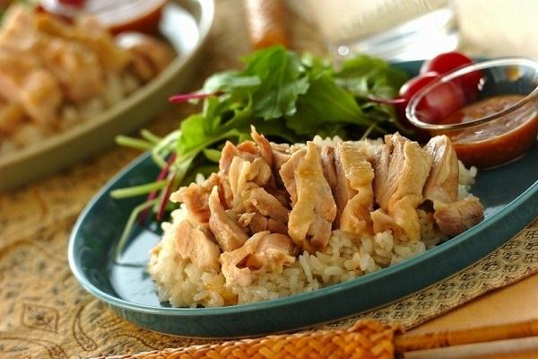 カオマンガイ(タイ風鶏ご飯)