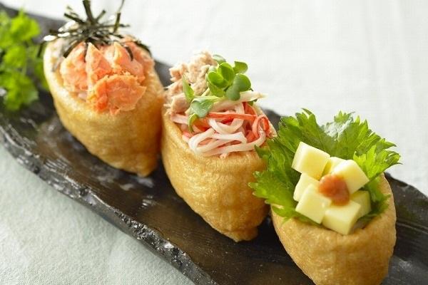 彩り時短いなり寿司