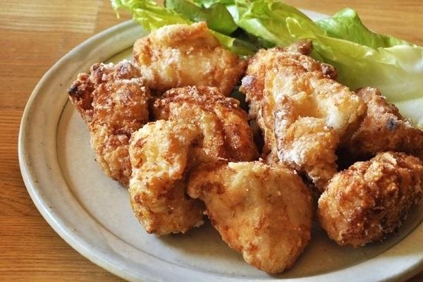 梅酢でしっとり鶏むね肉の唐揚げ