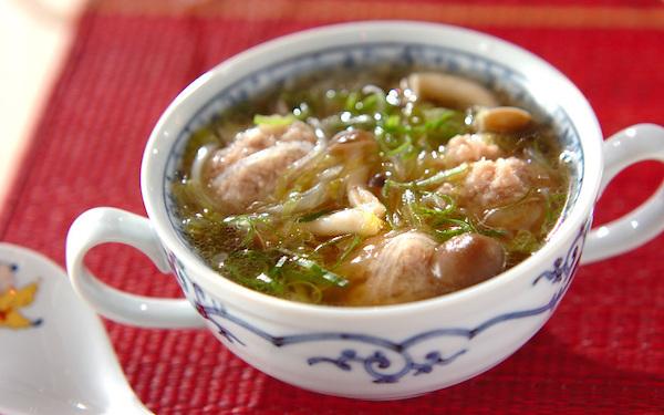 春雨が入っていてヘルシー! 罪悪感なしで食べられる「豚肉団子のスープ」