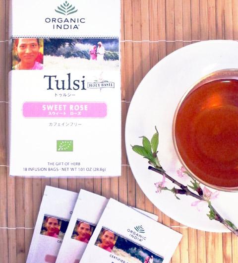 冷え風邪予防には、万能のお茶 「トゥルシー」がおすすめ