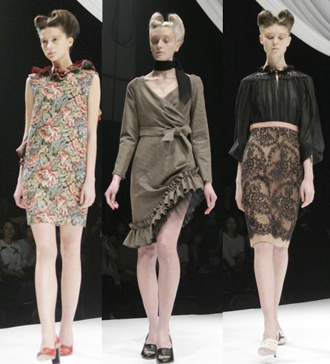 2013年秋冬 ファッショントレンド東京コレクションレポート01 モトナリ オノ2