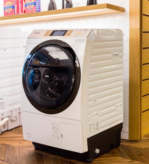 パナソニック洗濯機『ドラム式洗濯乾燥機 NA-VX5E3L-W』