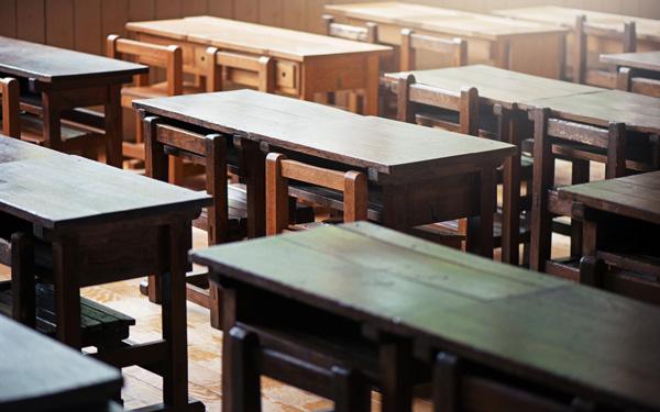 教室 机 学校 昔
