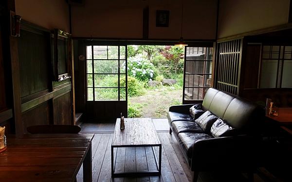 古民家を改装したモダンなカフェ #池上 #蓮月
