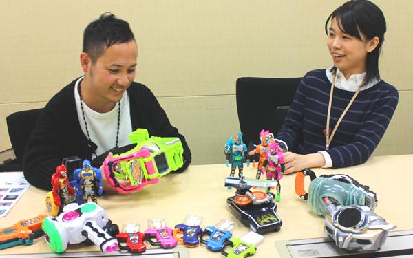 仮面ライダー玩具の秘密! 変身ベルトの作り手にインタビュー