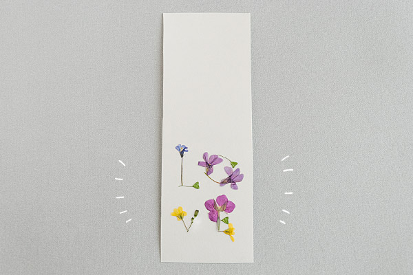 親子で春の散歩にGo! 野の花ブックマーク【おうちで季節イベント お手軽アートレシピ Vol.11】