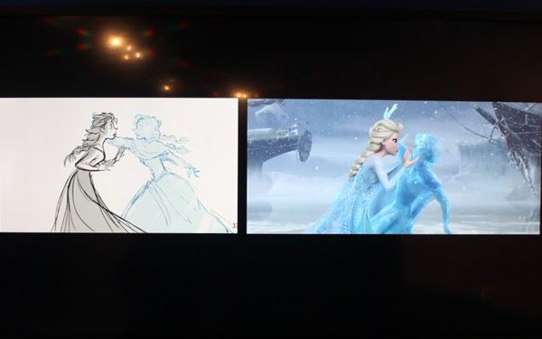 《アナと雪の女王》