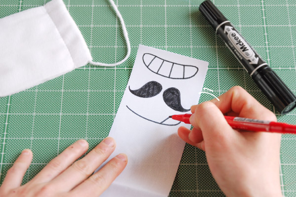 給食当番&花粉症に! 簡単おもしろマスク【おうちで季節イベント お手軽アートレシピ Vol.12】