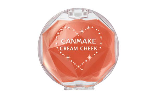 CANMAKE  クリームチーク [05]スウィートアプリコット  626円(税込)