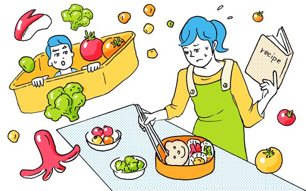 方程式を捨てよ!  「量」と「味」を間違わなければOKなお弁当作り