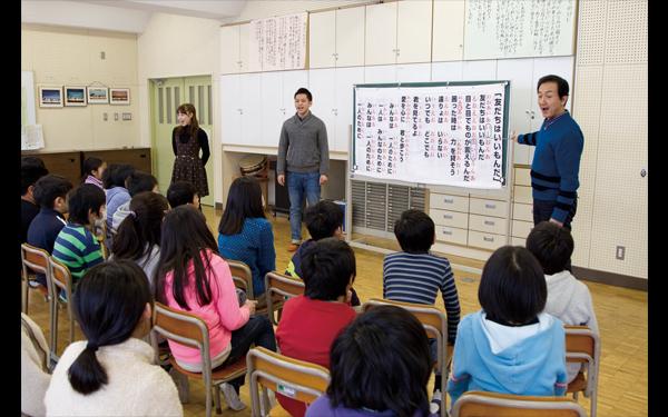 『美しい日本語の話し方教室』 撮影:下坂敦俊