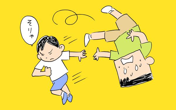日常は日々戦い。ヒーローに影響を受けすぎた息子【下請けパパ日記~家庭に仕事に大興奮~ Vol.25】