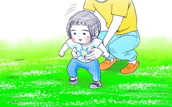 ムスメとさんぽ【すくすくきろく@kita.acari 第4話】
