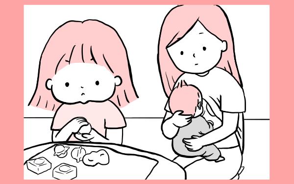 2人育児あるある? 同時多発のギャン泣きパニックに母は…